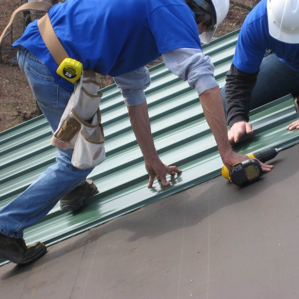 Metal Roof Installation And Repair, Roofing, Maryland