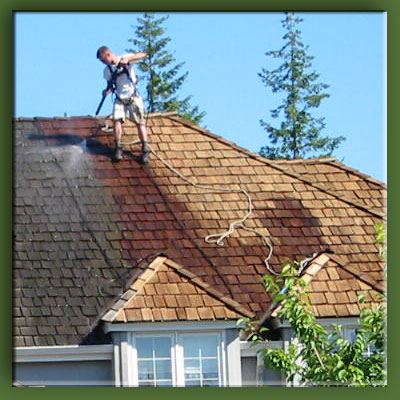Pressure Washing For Roofs
