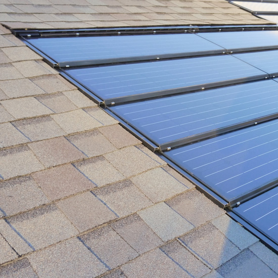 Solar Roof Shingle Installation And Repair